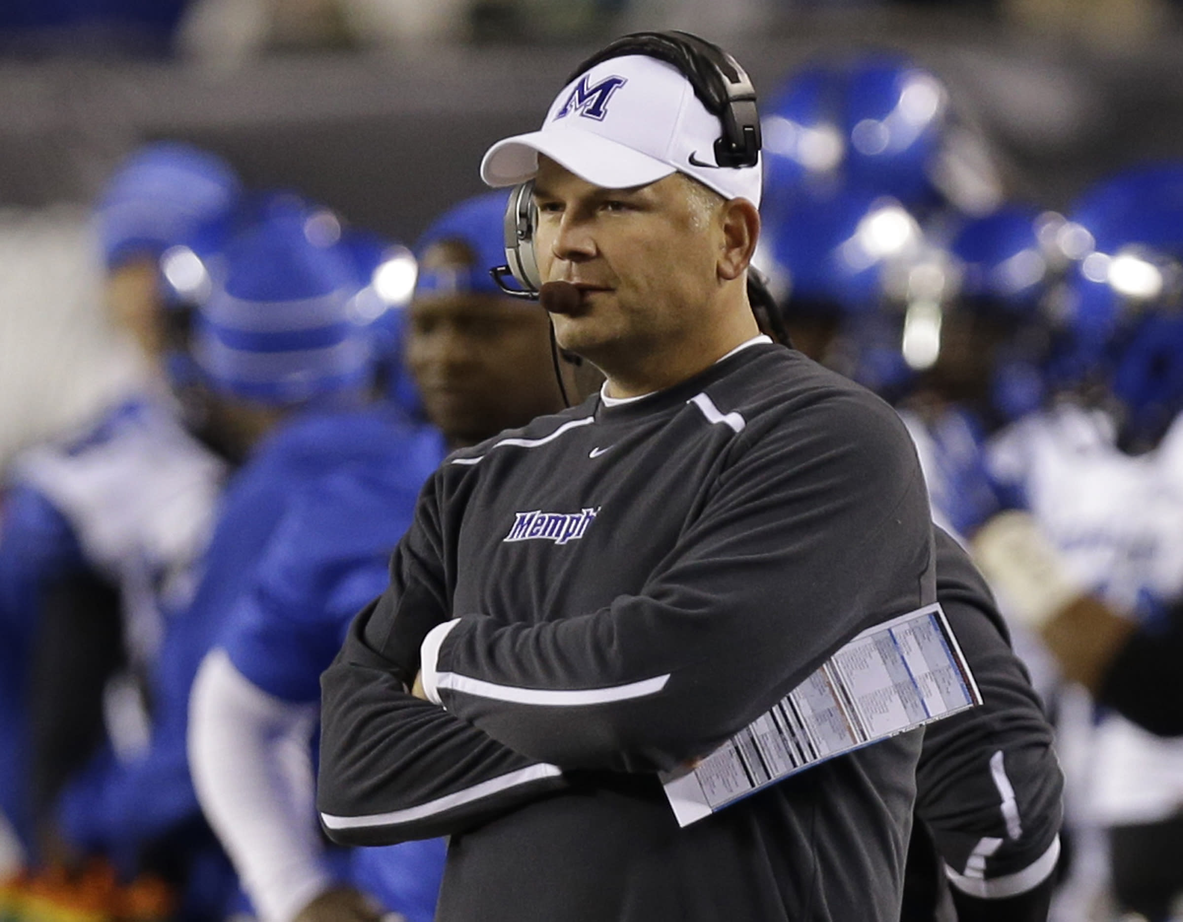 Reports: Justin Fuente to succeed Frank Beamer at Virginia Tech