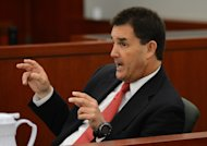 Former O.J. Simpson defense attorney Yale Galanter testifies during an evidentiary hearing for Simpson in Clark County District Court on May 17, 2013 in Las Vegas. Simpson, who is currently serving a nine-to-33-year sentence in state prison as a result of his October 2008 conviction for armed robbery and kidnapping charges, is using a writ of habeas corpus to seek a new trial, claiming he had such bad representation that his conviction should be reversed. (AP Photo/Steve Marcus, Pool)