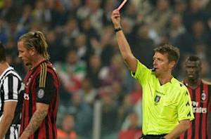 Mexes banned for four games over Chiellini punch