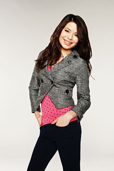 "Miranda Cosgrove stars as Carly Shay in ""iCarly."""
