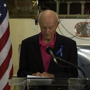 Michael Collins remembers Neil Armstrong's skill
