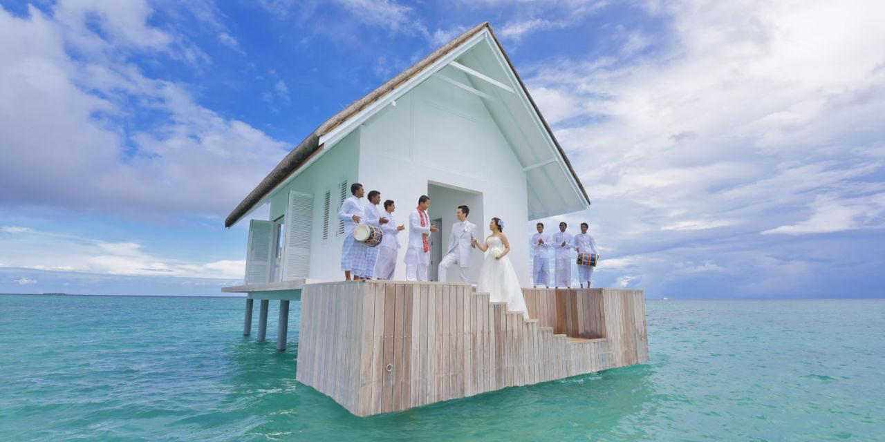 This Over-Water Wedding Pavilion Is Like A Ceremony And Honeymoon In One