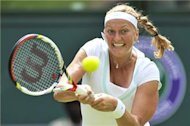 Kvitova advances to second round