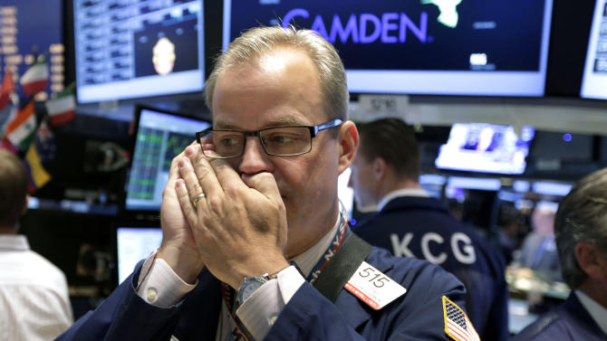 Stocks slip on a quiet day on Wall Street