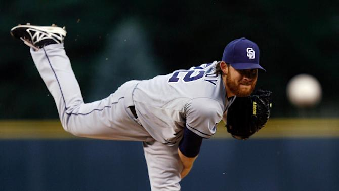Kennedy pitches Padres past Rockies 6-1