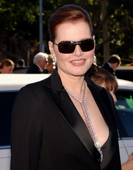 Geena Davis at the 58th Auunaul Primetime  Emmy Awards. 