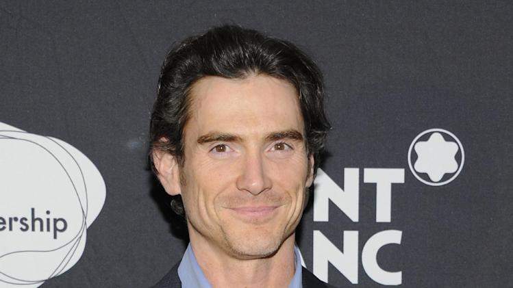 "FILE - This Nov. 14, 2011 file photo shows actor Billy Crudup at the ""24 Hour Play"" after-party at B.B. King Blues Club in New York. Producers of the upcoming Broadway revivals of Harold Pinter's ""No Man's Land"" and Samuel Beckett's ""Waiting for Godot"" said Monday, May 6, 2013, that Crudup and Shuler Hensley will join the cast at the Cort Theatre. (AP Photo/Evan Agostini, file)"