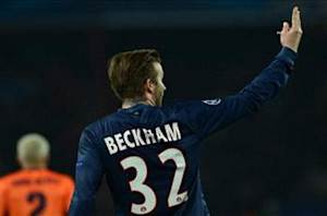 Beckham unsure of lineup status against Barcelona
