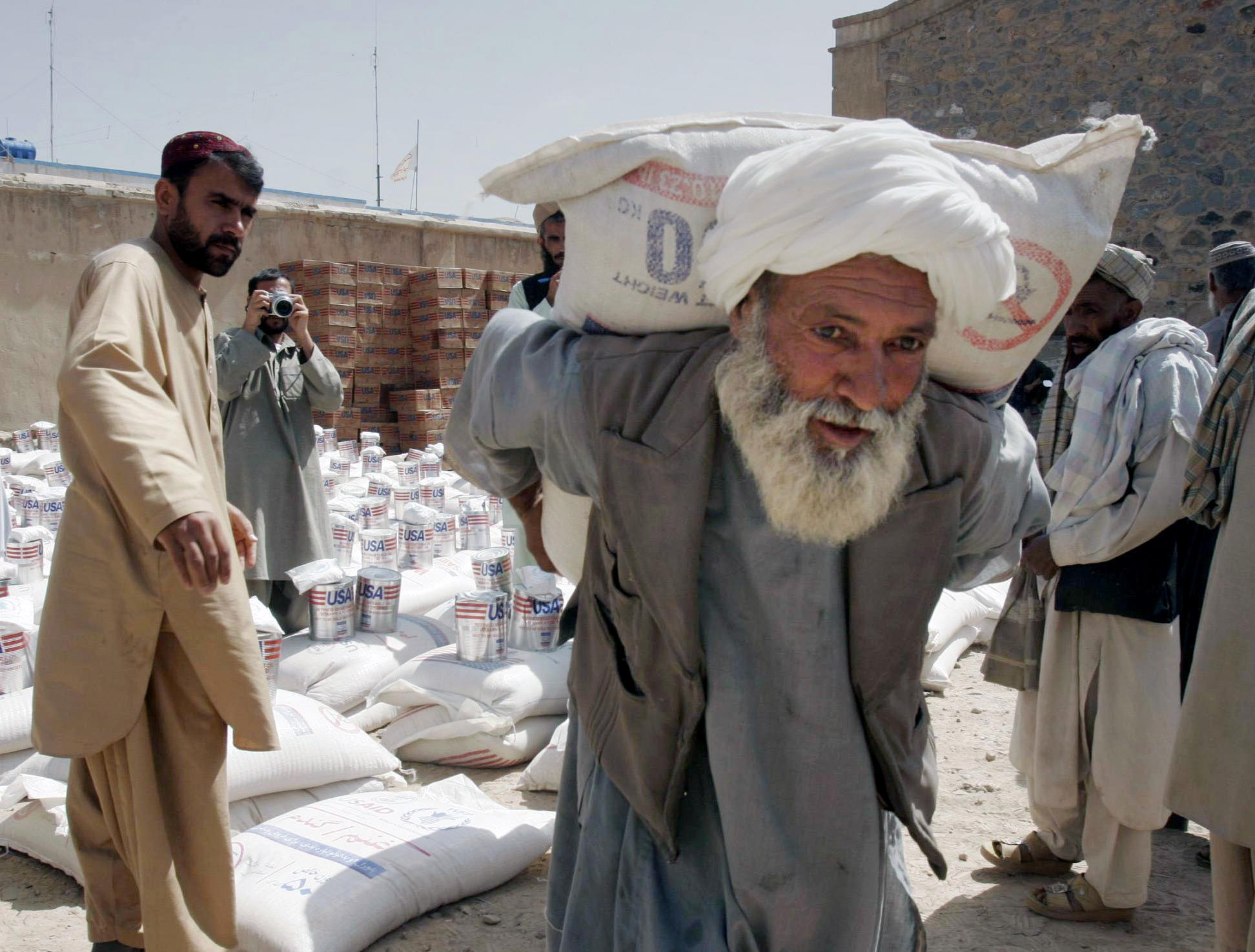 AP Interview: US must address waste, fraud in Afghan aid