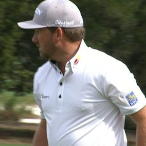 Graeme McDowell's second shot leads to birdie at The RSM Classic