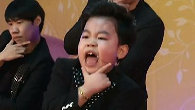 Raw: 'Little PSY' From 'Gangnam' Video Goes Solo