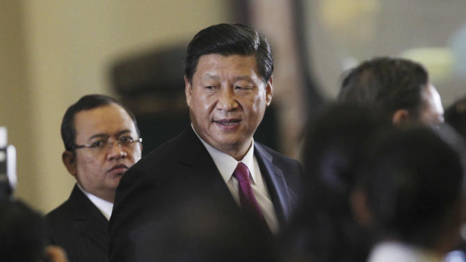 China president makes historic speech in Indonesia