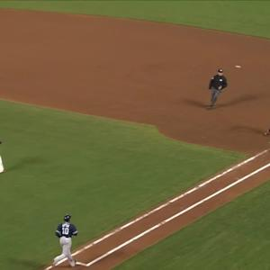 Upton reaches on error