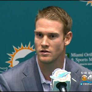 Dolphins Show Faith In Tannehill By Giving Him Big Contract
