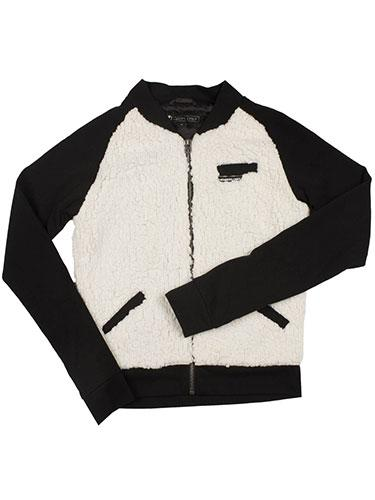 Members Only Sherpa Varsity Jacket