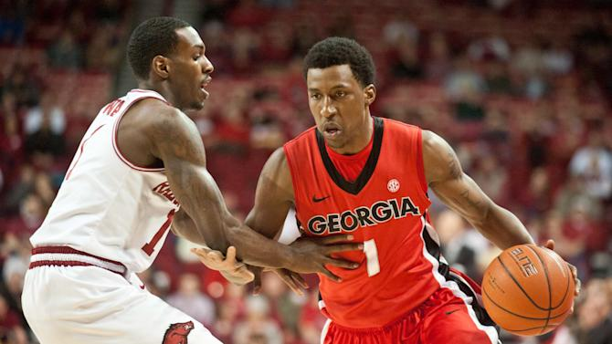 NCAA Basketball: Georgia at Arkansas
