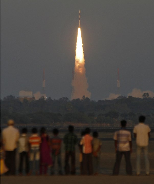 India's PSLV C-20 blasts off, carrying Indo-French satellite SARAL at Sriharikota