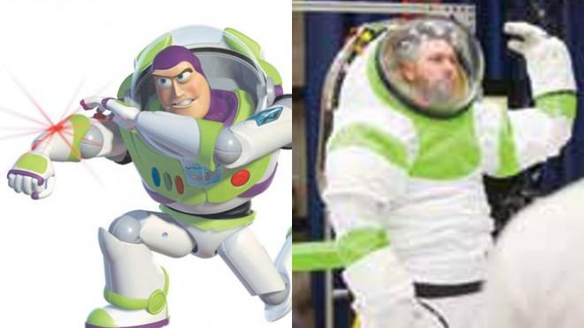 Buzz Lightyear… is that you?