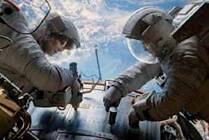 Sandra Bullock-George Clooney's 'Gravity' Soars to Record $55M Box-Office Blast-Off