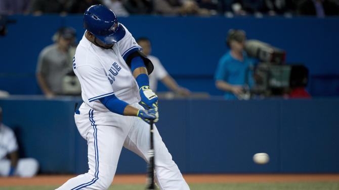 Encarnacion has 2 HRs, Blue Jays top Indians 4-2