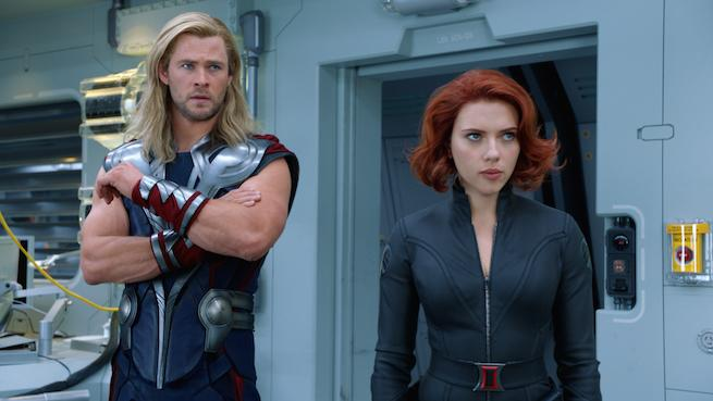 Thor And Black Widow Named Most Dateable Movie Characters For Valentine's Day In New Survey