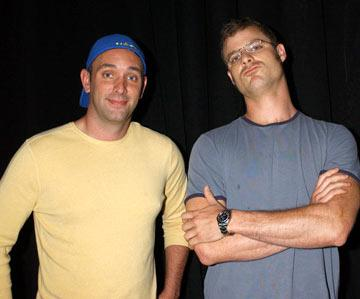 Trey Parker and Matt Stone Team America: World Police panel 2004 San Diego Comic-Con International - 7/24/2004