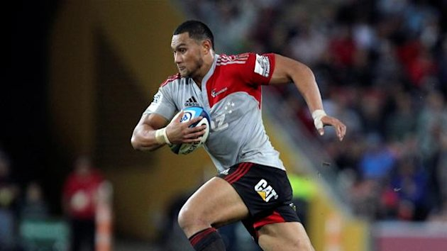 Robbie Fruean of Canterbury Crusaders