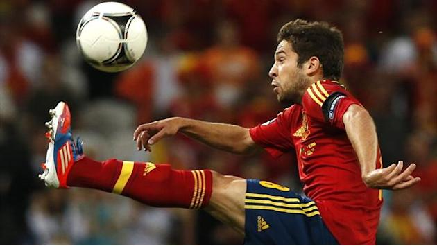 World Cup - Spain's Alba misses France trip with injury