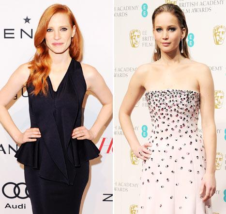 Jessica Chastain: I Don't Hate Jennifer Lawrence!