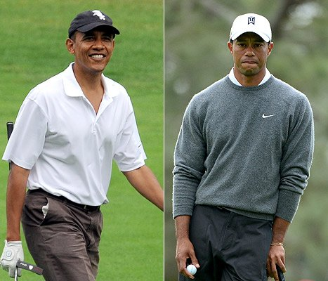 Barack Obama on Golfing With Tiger Woods: &quot;He&#39;s on Another Planet&quot;