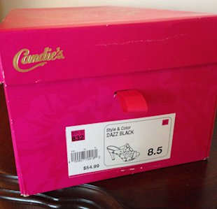 An SEO Fail For Candie's – A Big Brand Audit image shoes1