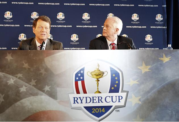 2014 U.S. Ryder Cup Captains News Conference