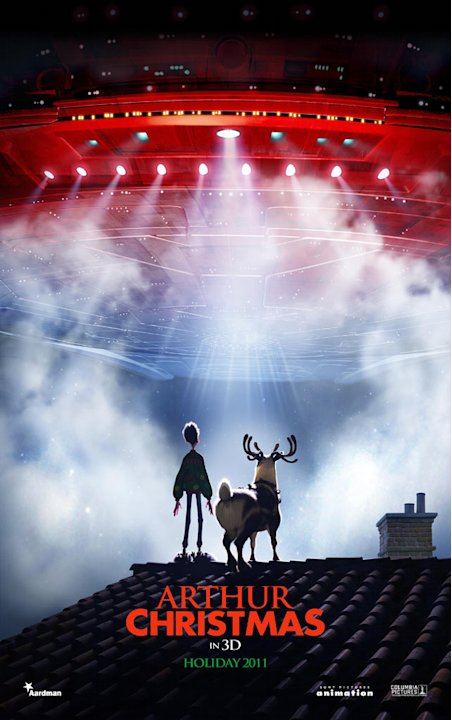 Arthur Christmas Columbia Pictures 2011 Poster