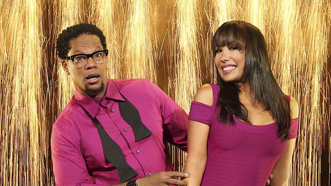 """Dancing with the Stars"" Season 16 D.L. HUGHLEY, CHERYL BURKE"
