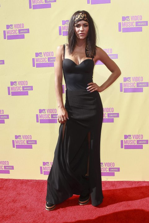 Jessica Szohr2012 MTV Video Music Awards, held at the Staples Center - ArrivalsLos Angeles, California - 06.09.12Mandatory Credit: WENN.com/FayesVision