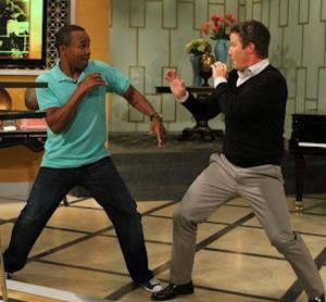 Billy Bush Spars With Sugar Ray Leonard; Billy To Boxing Great: 'I Could Take You'