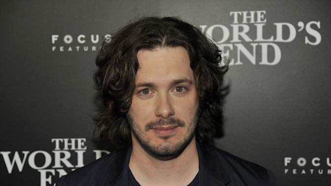 "FILE - In this July 18, 2013 file photo, director Edgar Wright attends the ""The World's End"" party on Day 2 of Comic-Con International in San Diego, Calif. Wright and ""Ant-Man"" are going their separate ways. The British filmmaker said in a joint statement with Marvel Friday, May 23, 2014, that the director and studio couldn't agree on a vision of the film so made an ""amicable"" decision to part. (Photo by Chris Pizzello/Invision/AP, file)"
