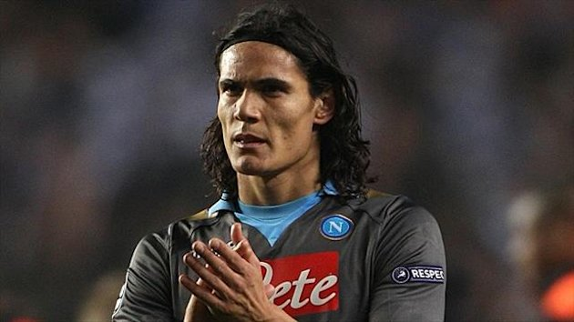 Edinson Cavani has been linked with several top European clubs