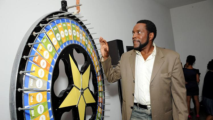 "Chad L. Coleman of ""I Hate My Teenage Daughter"" spins the wheel for charity at the 2011 Fox Fall Eco-Casino Party at The BookBindery on September 12, 2011 in Culver City, California."