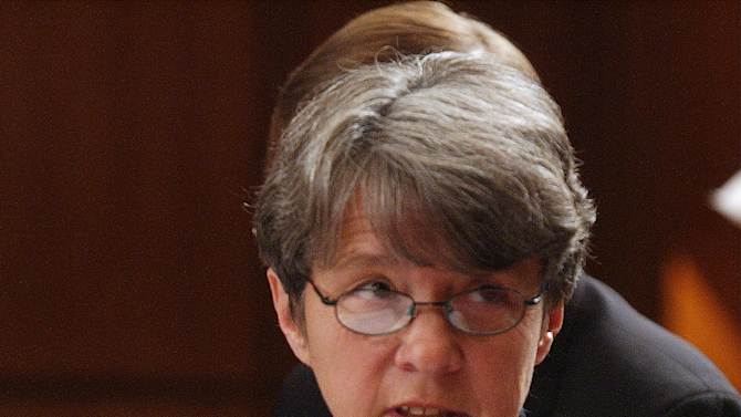 FILE - In this Oct. 8, 2002 file photo, Mary Jo White, former U.S. Attorney for the Southern District of New York, appears on Capitol Hill in Washington. A White House official says President Barack Obama on Thursday will nominate White as chair of the Securities and Exchange Commission (SEC).  (AP Photo/Dennis Cook, File)