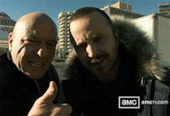 Dean Norris and Aaron Paul | Photo Credits: AMC