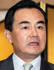 This file picture taken on May 11, 2005, shows Wang Yi addressing the media in Tokyo. China's parliament has approved Wang -- a former ambassador to Japan -- as the country's new foreign minister with tensions high between the two Asian giants over disputed islands