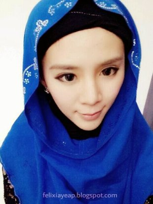 Yeap says her mother is supportive of her donning the hijab. - Pic courtesy of felixiayeap.blogspot.com, December 14, 2013.
