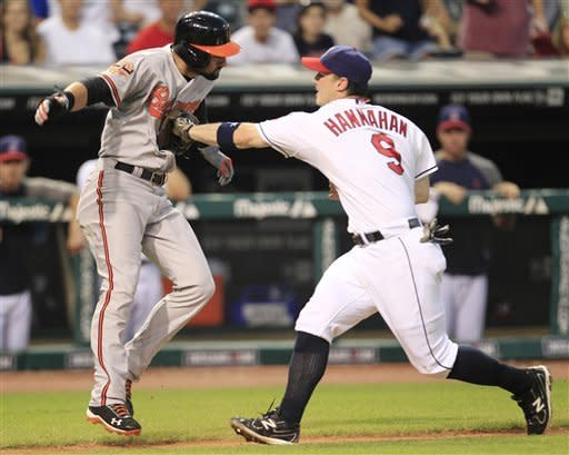 Indians avoid 4-game sweep by beating Orioles 3-1