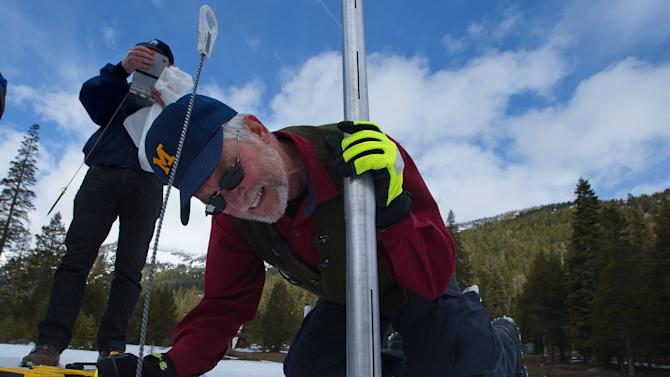 Calif. water managers despair over snowpack