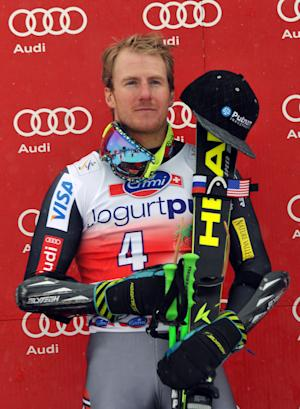 Ted Ligety wins World Cup giant slalom