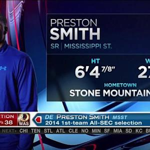 Washington Redskins pick defensive end Preston Smith No. 38 in the 2015 NFL Draft