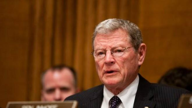 Sen. James Inhofe says the Obama administration is buying up bullets to deprive gun owners of ammo.