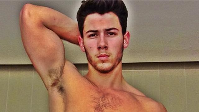 Nick Jonas Explains His Viral Shirtless Selfie