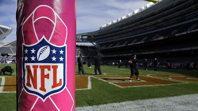 NFL won't use pink penalty flags for Week 6
